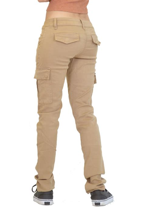 S Slim Pant new womens slim fitted stretch combat