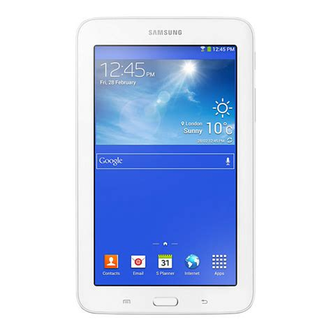 tablette samsung galaxy tab 3 lite 7 8 go blanc samsung galaxy tab 3 lite 7 quot sm t113 8 go blanc tablette