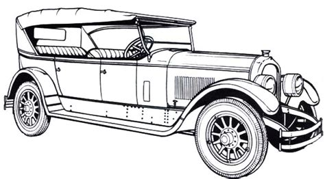 old fashioned cars coloring pages old cars coloring pages 1924 marmon old classic car