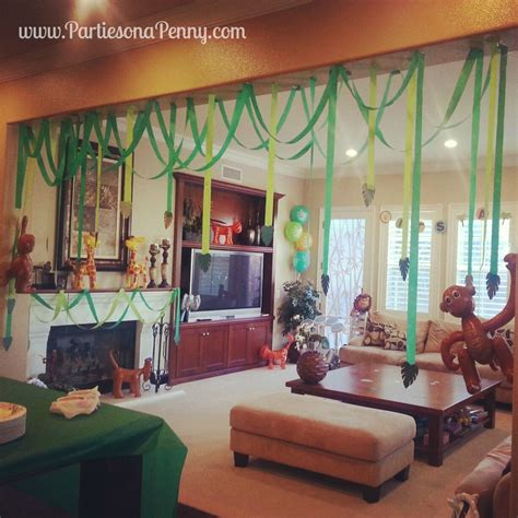 Baby Shower Jungle Decorations by Jungle Themed Baby Shower Decorations Baby Shower Ideas