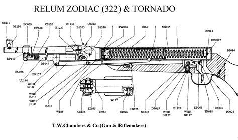 tornado  relum airgun spares chambers gunmakers