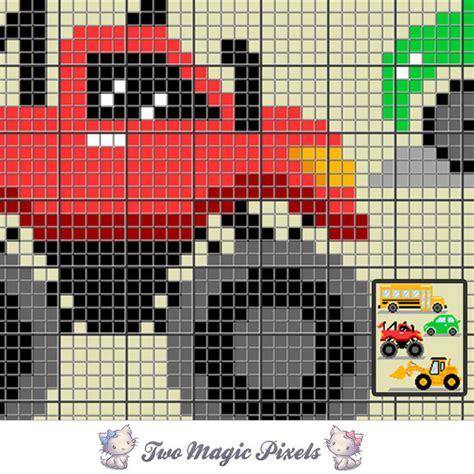 pattern magic 3 pdf free download road vehicles c2c graph crochet pattern twomagicpixels