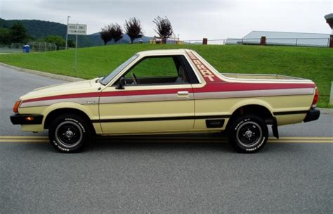 subaru brat 2013 righteous stripes 60k mile 1982 subaru brat dl bring a