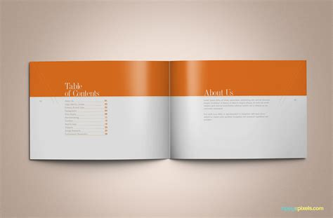 Download Professional Brand Guidelines Brandbook Template Zippypixels Brand Book Template Free