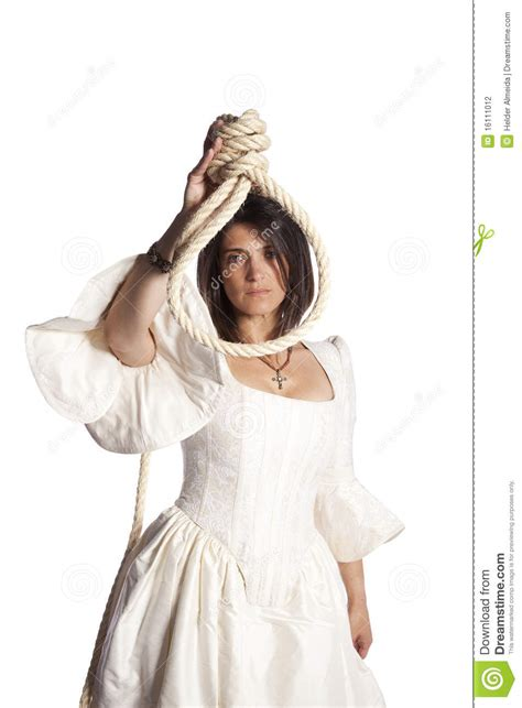bride   hanging rope stock photography image