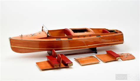 radio control chris craft boats chris craft runabout 48 quot handcrafted wooden boat for radio