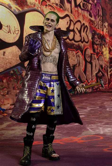 Toys Joker Squad Purple Coat review and photos of squad joker purple coat