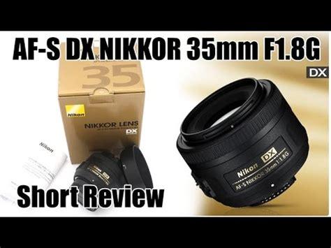 Lensa Nikon 35mm F 1 8g unboxing lensa nikon 35mm f 1 8g af s dx d5500 18 55