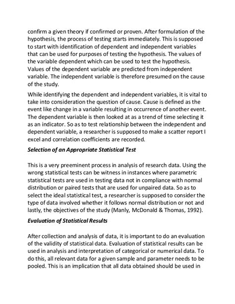 Essay About Lessons Learned In by Lessons Learnt In Statistics Essay