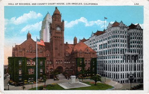 Los Angeles County Clerk Of Court Records Los Angeles Past 2009