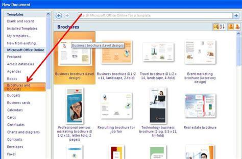 Cara Membuat Brosur Iklan Di Microsoft Word | contoh brosur dengan word downlllll