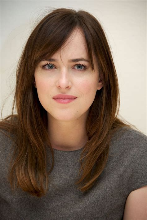 dakota johnson bangs dakota johnson admits she had doubts over fifty shades of grey