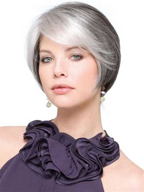 photos of very short grey hairstyles with mahogany highlights short hairstyles for older women with gray hair