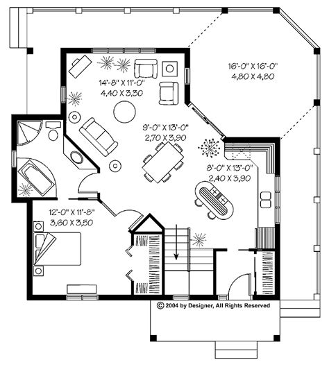 One Bedroom Cottage House Plans One Bedroom House Designs | 1 bedroom cabin house plans 1 bedroom cabins designs 1
