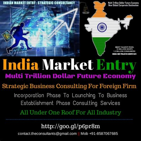 india market entry strategic consulting services for