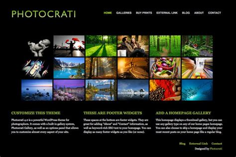 35 Best Wordpress Photography Themes Designmaz Best Photography Website Templates