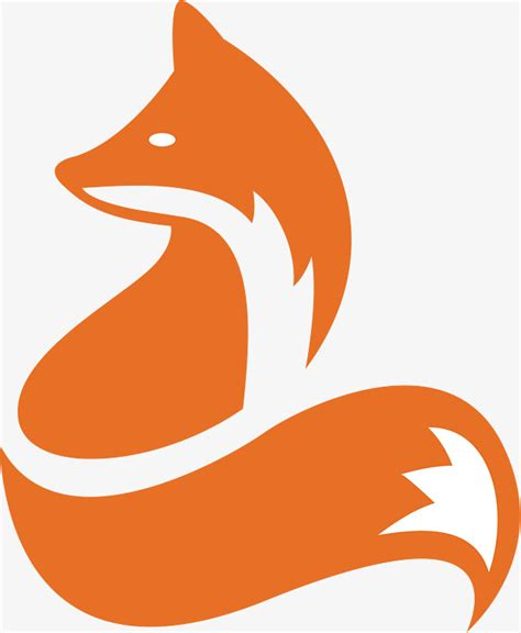 draw a vector fox illustration in adobe illustrator fox icon design fox animal icon png and vector for free