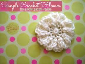 Free Easy Flower Crochet Patterns - simple flower patterns related keywords amp suggestions