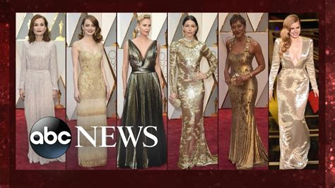 a fashion experts guide to the oscars red carpet video oscars fashion hottest looks from the red carpet youtube