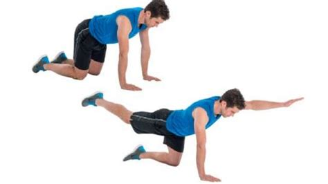 how to do the superman plank coach