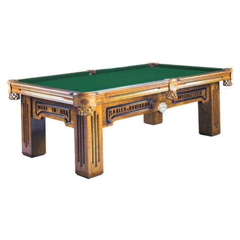 h d motorcycles pool table for my hubby