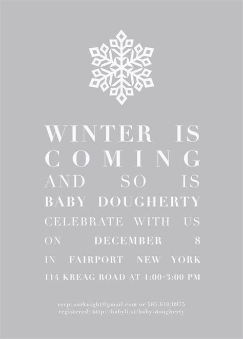 invitation for baby shower marvelous winter wonderland baby shower