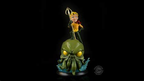 Qmx Q Fig Green Arrow Dc Comics sdcc 2016 aquaman and cthulhu q fig exclusive the toyark news