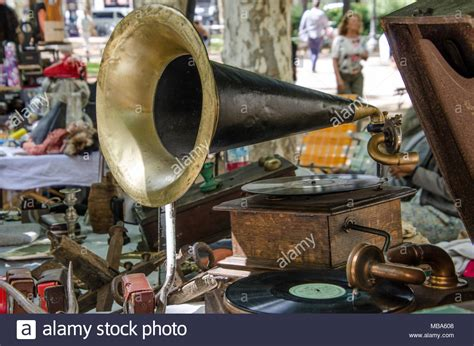 Vintage Mba Photos by Antique Musical Instrument Collection Stock Photos