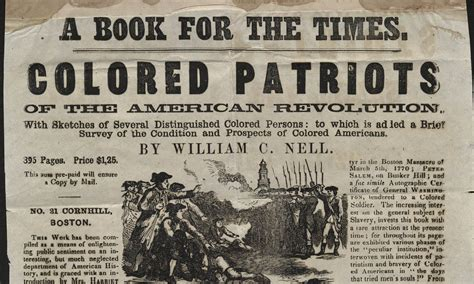 the colored patriots of the american revolution books boston s crusade against slavery houghton library