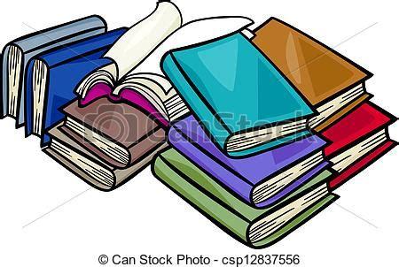 mont 243 n de libros de dibujos animados ilustraci 243 n vector clipart vectorial de libros mont 243 n caricatura