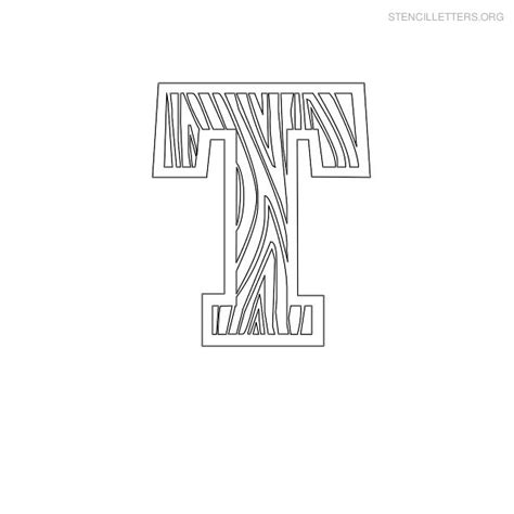 wood letter templates stencil letters t printable free t stencils stencil