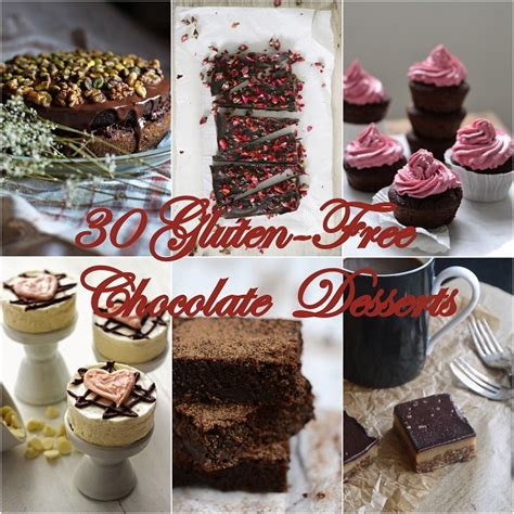 chocolate desserts for day 30 gluten free chocolate desserts for s day