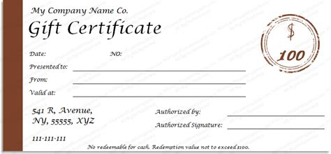 simple gift certificate template award of excellence template get certificate templates