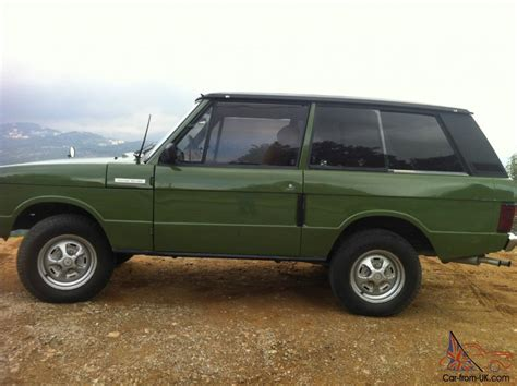 original range rover interior original 1975 all aluminum 2 door range rover v8