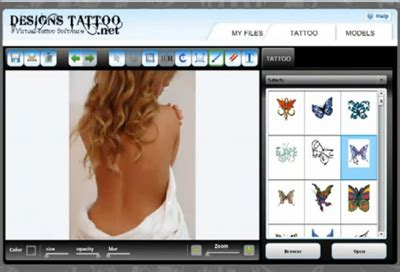 design photo editor online 5 free and paid online tattoo designer tools design make