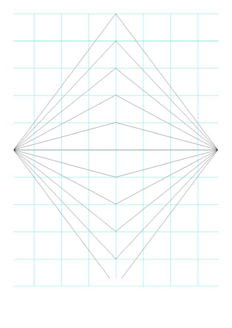 perspective grid  point printable
