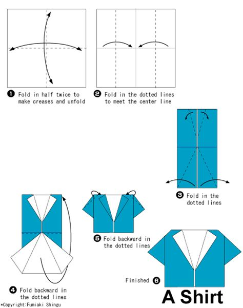 How To Fold A Paper Shirt - how to fold a paper t shirt 28 images 儿童折纸衣服大全 折纸裙子