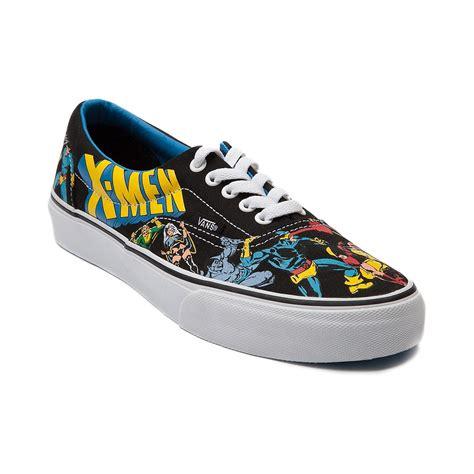 journey shoes vans era skate shoe black blue journeys shoes