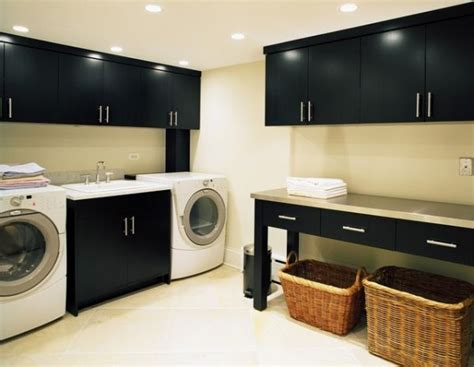 42 Laundry Room Design Ideas To Inspire You Black Laundry