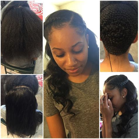 partial sew in hairstyles for synthetic hair best 25 partial sew in ideas on pinterest short hair