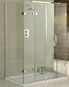 1200 Corner Bath With Shower Screen 3 sided shower enclosure 3 sided shower cubicle