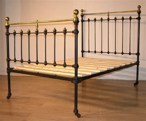 antique cast iron bed antiques the uk s largest antiques website
