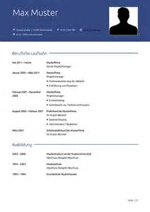 Lebenslauf Muster Gratis Lebenslauf Vorlage Kostenlose Vorlagen F 252 R Die Bewerbung