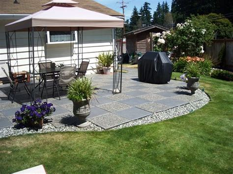Simple Backyard Patio Designs Home Collection Also Picture Simple Patio Ideas For Small Backyards