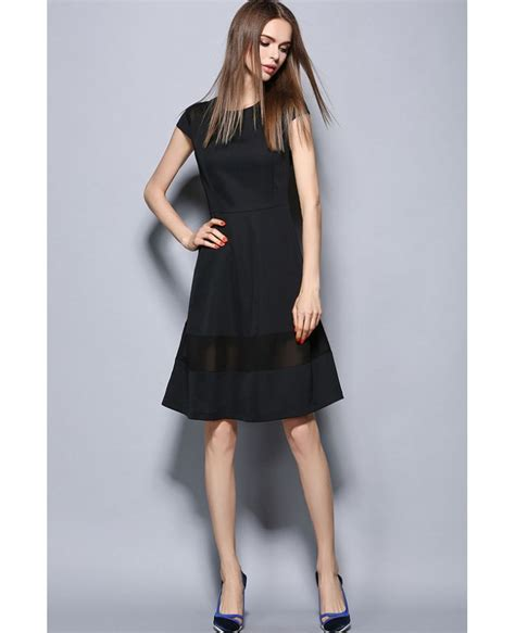 Sleeve Organza Dress cap sleeves organza black dress gemgrace