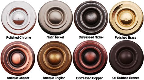 Door Knob Colors Rk International Finish Colors Doorware