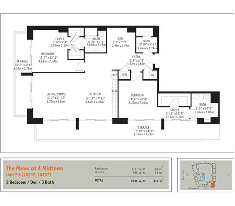 midtown 4 floor plans floorplans midtown miami residences
