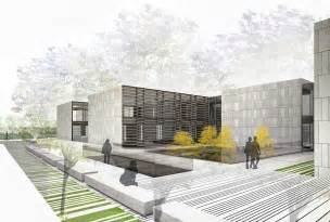 Architectural Renderer by Architectural Rendering Renderings For The Architecture Competition For The New Imas Building