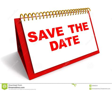 save the date stock illustration illustration of meeting