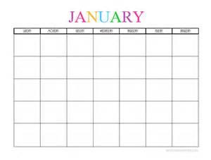 Free Printable 2018 Monthly Calendar Free Printable Blank Monthly Calendars 2017 2018 2019